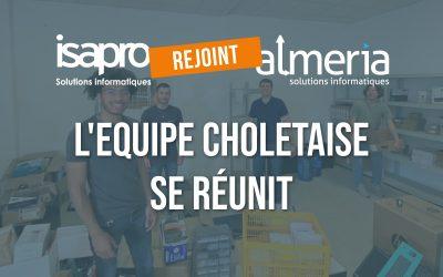 les equipes d'Isapro et d'Almeria se réunissent