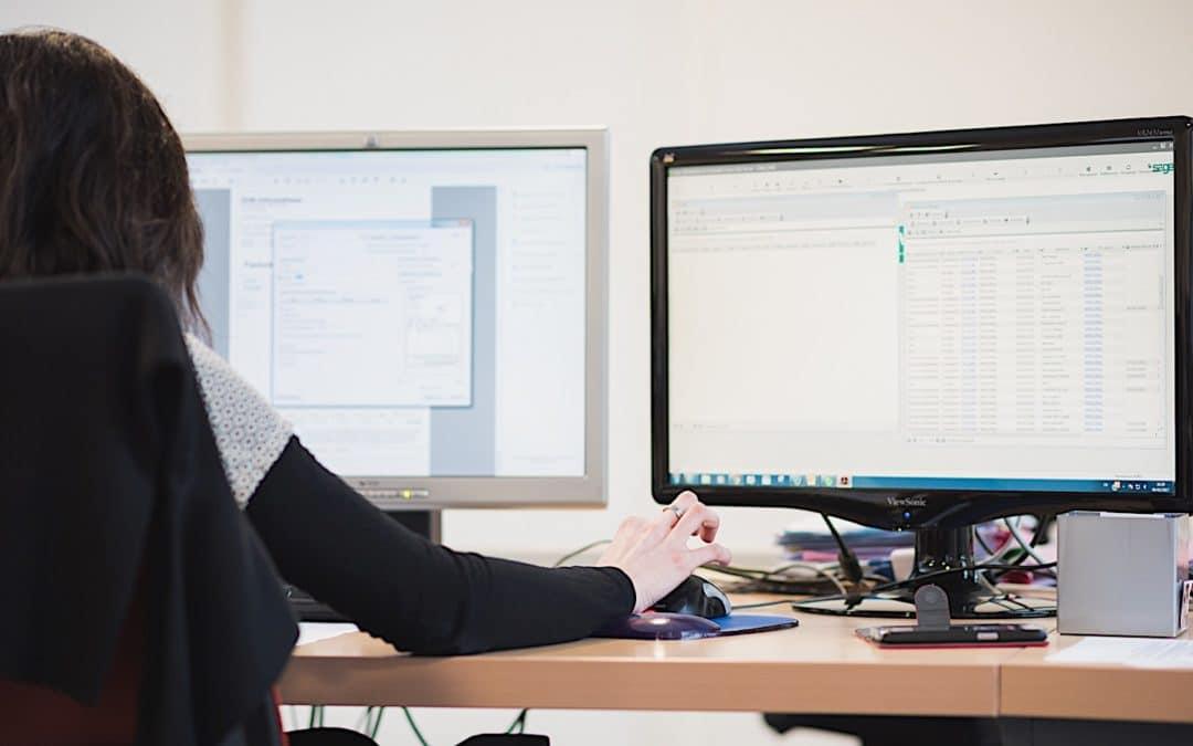 Portrait d'Aurélie Assistante commerciale