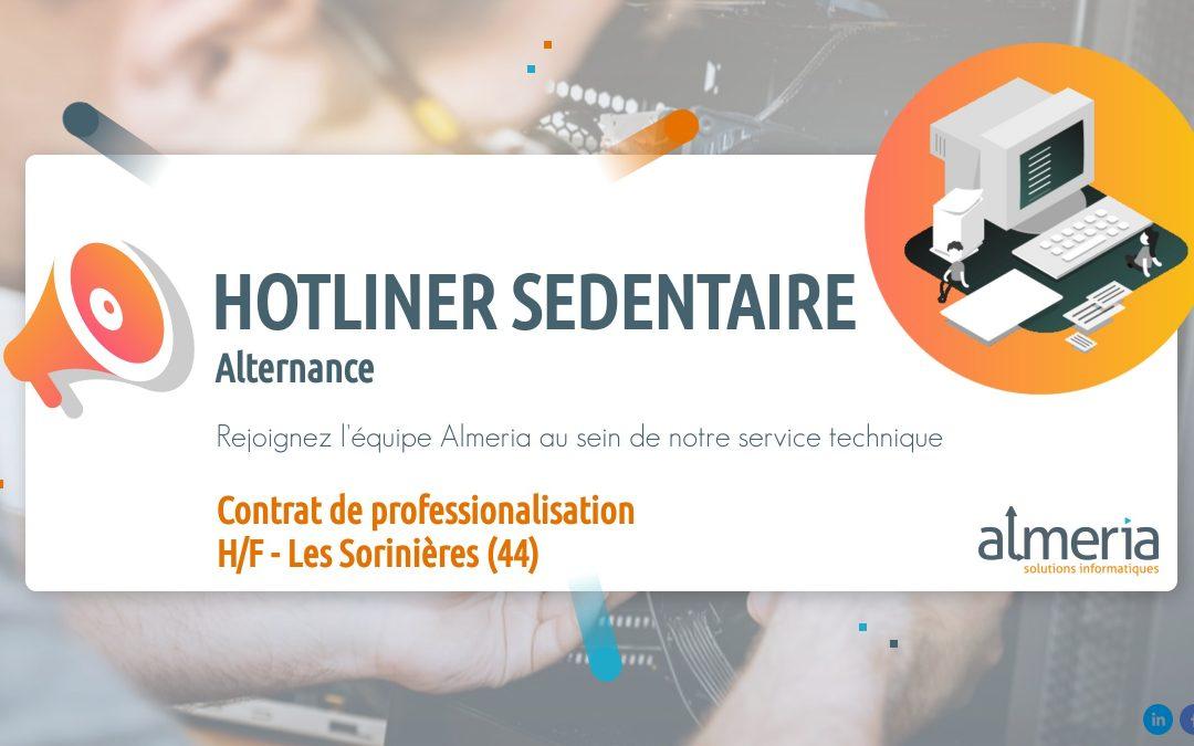 hotliner sédentaire alternance