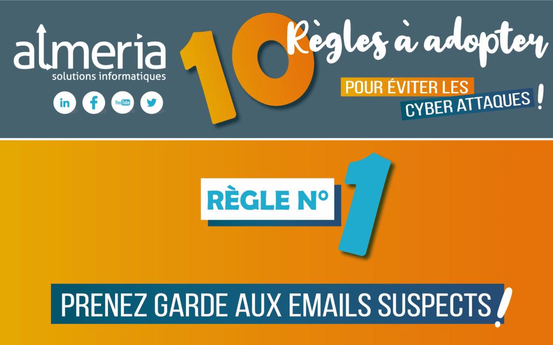 Prenez garde aux emails suspects ! #1