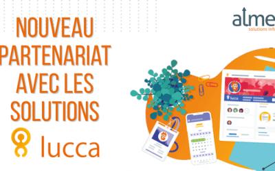 Nouveau partenariat avec les solutions de gestion LUCCA